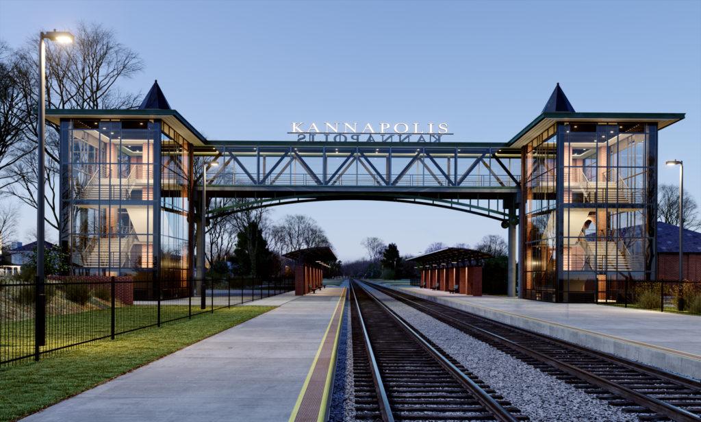Proposed Kannapolis Gateway design, Jan 2019